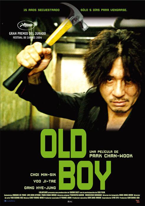 영화 '올드보이' 포스터