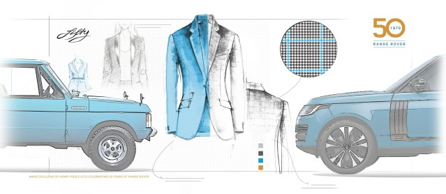 랜드로버, 영국 헨리 풀과 레인지로버 50주년 기념 재킷 제작