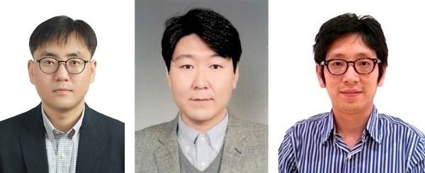 (왼쪽부터)대구경북과학기술원 이종원 교수, 경희대학교 박민식 교수, 호주 울런공대학교 김정호 교수 공동 연구팀