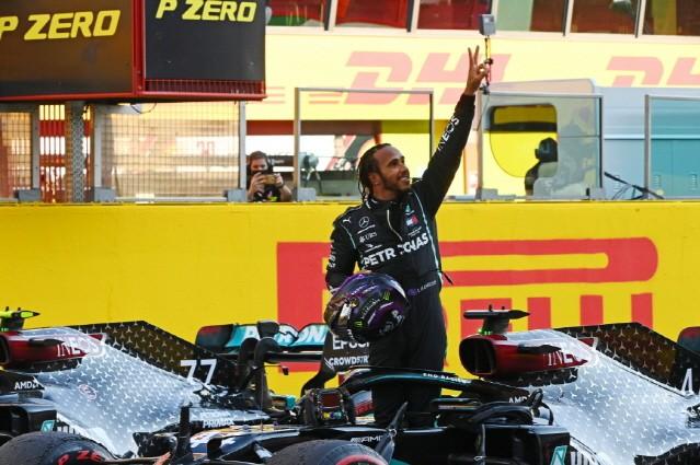 메르세데스-AMG 페트로나스 F1 팀, 투스칸 그랑프리 우승