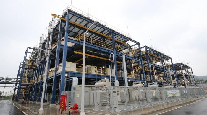 대산 수소연료전지 발전소 시설(제공:News1)