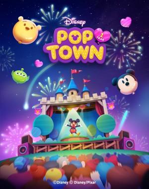 선데이토즈, '디즈니 팝 타운' 해외 서비스 40만 즐겨
