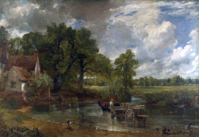 존 컨스터블, 「건초마차」, 1821, 런던 내셔널 갤러리