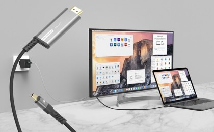 아트뮤, 충전하며 미러링 가능한 C타입 PD HDMI 케이블 출시