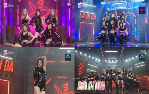 사진 = SBS '인기가요' 방송 캡처