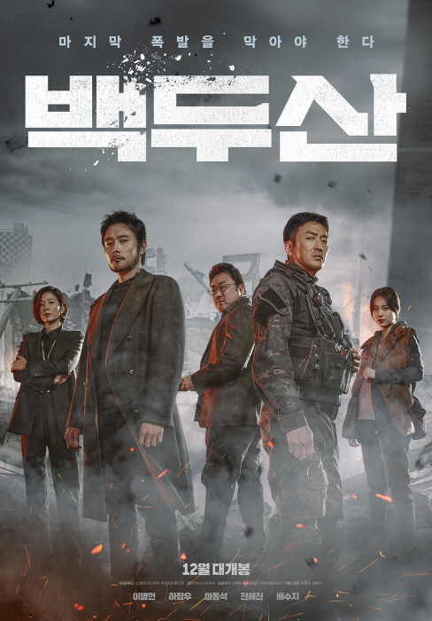 영화 '백두산' 포스터