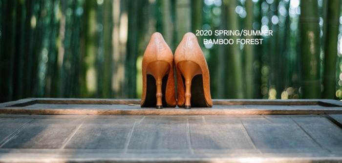 채상장 무형문화재와 협업을 통해 전남 담양 대나무로 만든 신발(제공:중기부)
