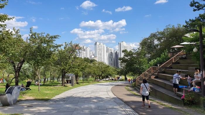 녹지공간 접근성이 좋은 도시숲(제공:국립산림과학원)