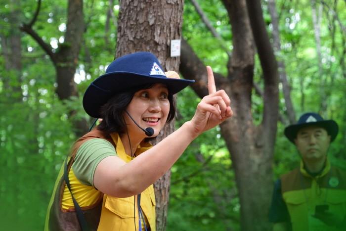 제14회 전국 숲해설 경연대회 개최(제공:산림청)