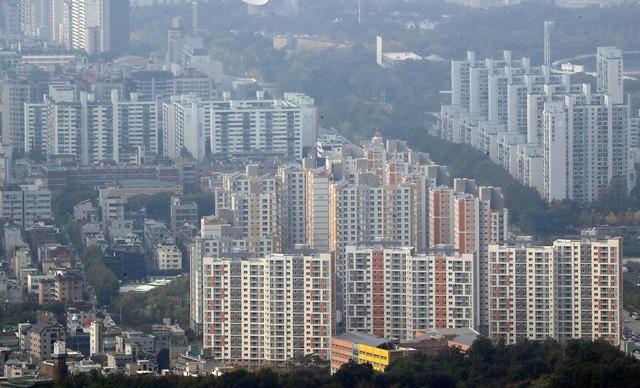 서울시내 아파트 단지 모습. 출처=뉴스1