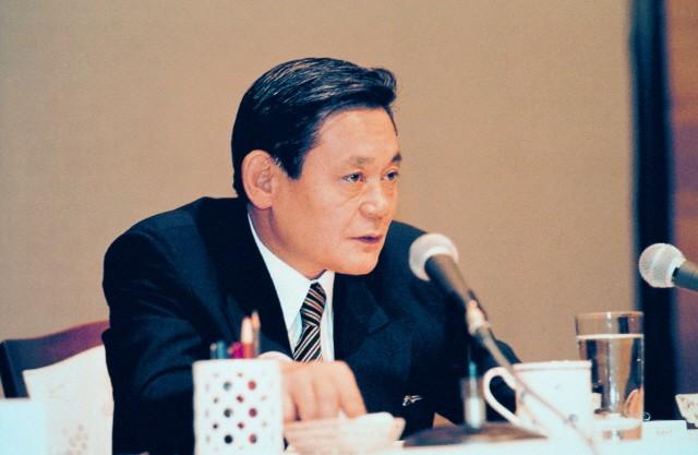93년 신경영 선언 당시의 이건희 삼성 회장