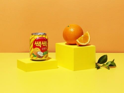롯데칠성음료 '쌕쌕 오렌지' 제품 이미지