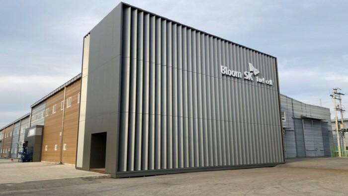 블룸SK퓨얼셀 제조공장 전경(제공:SK건설)