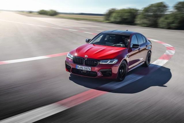 BMW, 초고성능 비즈니스 세단 뉴 M5 컴페티션 시판