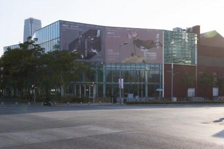 중국 상하이 유즈 미술관 전경