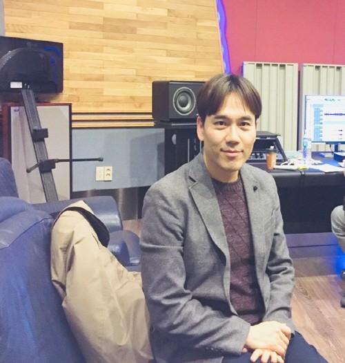 녹음 스튜디오에서의 김기환. 사진=김기환 제공