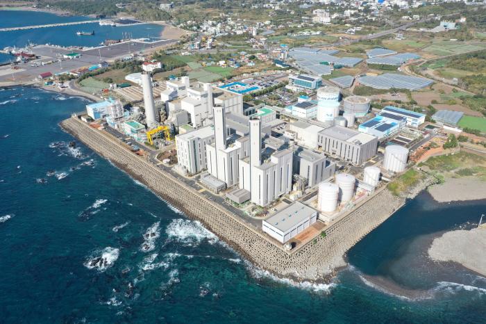 남부발전 서귀포 LNG 복합발전소 전경(제공:남부발전)