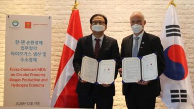 주한덴마크대사관-한국환경공단, 순환경제 분야 협력