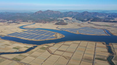 한수원, 전남 고흥 해창만에 300MW급 태양광 추진