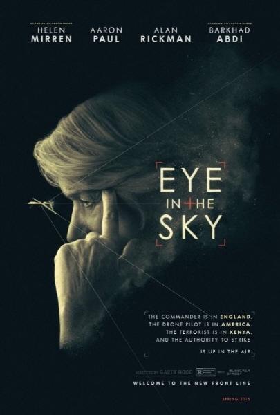 영화 '아이 인 더 스카이(Eye in the Sky)' 포스터