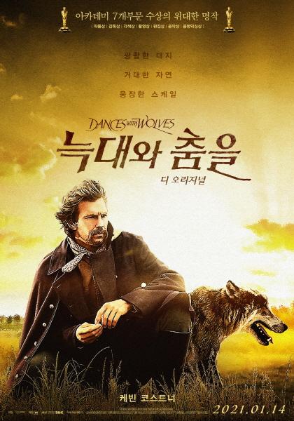 영화 '늑대와 춤을' 포스터