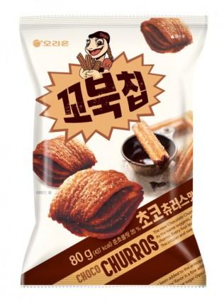 오리온 '꼬북칩 초코츄러스 맛' 제품 이미지