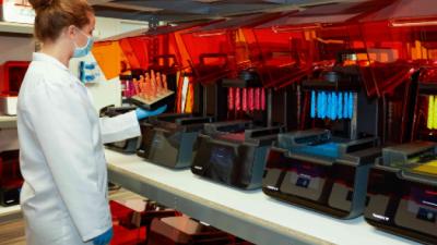 3D 프린팅, 대형 제조 공장의 주문생산에 인기