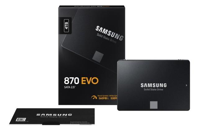 870 EVO SSD 패키지