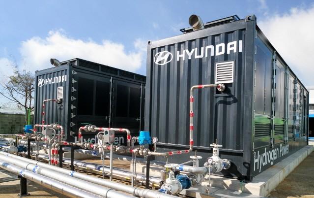 현대차, 국내 독자기술 기반 수소연료전지 발전 시스템 본격 가동