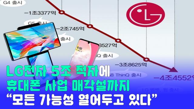 LG전자가 지난 20일 모바일 사업과 관련해 매각까지 포함해 모든 가능성을 열어두고 있다고 밝혀 업계의 관심이 뜨겁다.