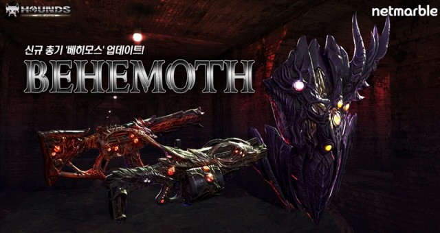 Netmarble announced that it has made various updates, including the addition of the top-class firearm'Behemoth' and a new main mission to the online RPS (Role Playing Shooting) game'Hounds: Reload'.