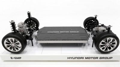 현대차 자체 개발 전기차 플랫폼 'E-GMP'. 사진=현대차그룹