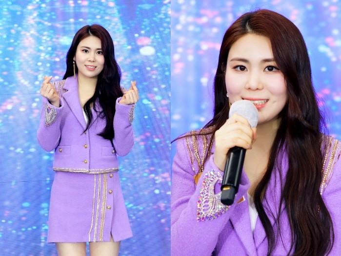 KBS 트롯 전국체전 톱8 가수 최향. (사진=포켓돌스튜디오 제공)