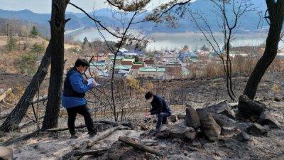 경북 안동·예천 산불 피해지 합동조사...복구계획 수립 나서