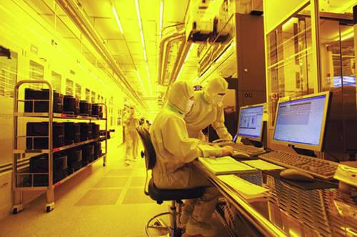 삼성전자 반도체 생산라인.