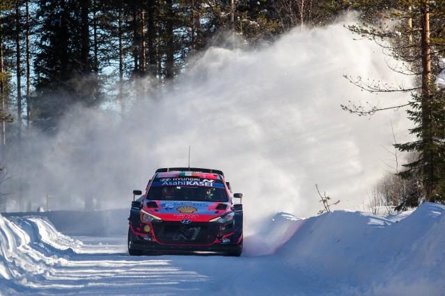 현대차 월드랠리팀, WRC 핀란드 북극 랠리서 '첫 승' 신고
