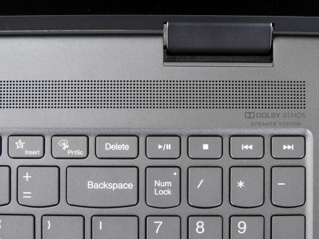 크고 깨끗한 음질을 보여주는 스피커. 돌비 애트모스 기술 탑재로 입체감 있는 사운드를 들려준다.