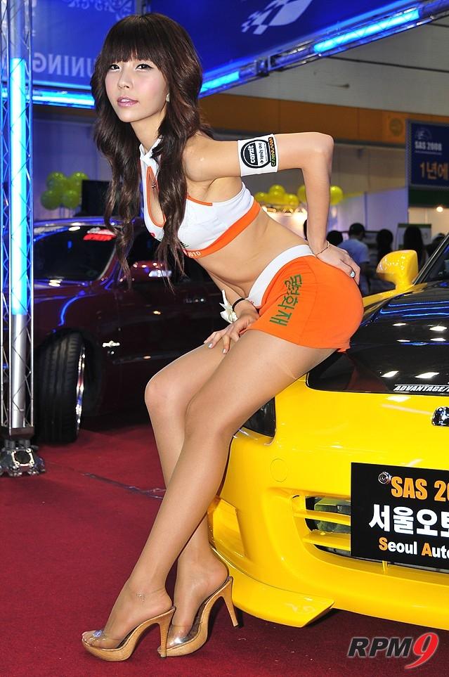 [포토] 한국 레전드 레이싱 모델-민다흰