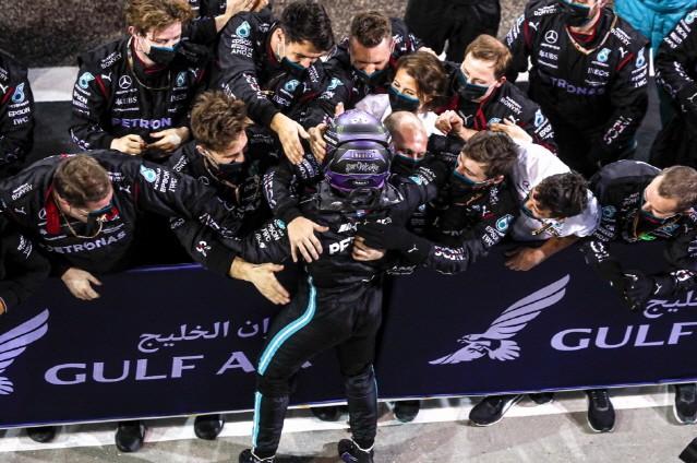 메르세데스-AMG 페트로나스 F1 팀, 2021 F1 개막전 우승