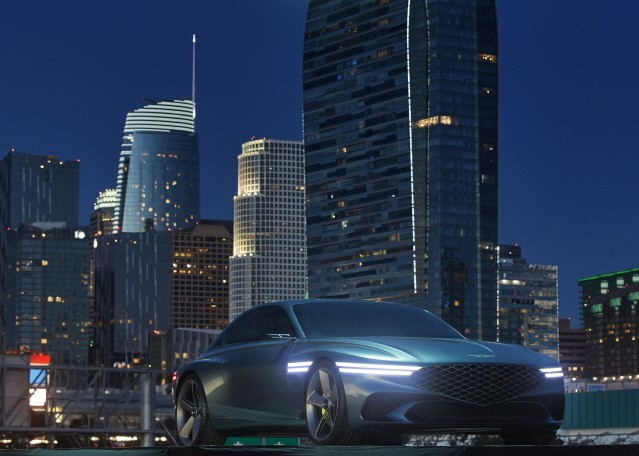 제네시스, 미래형 전기차 '제네시스 엑스' 공개