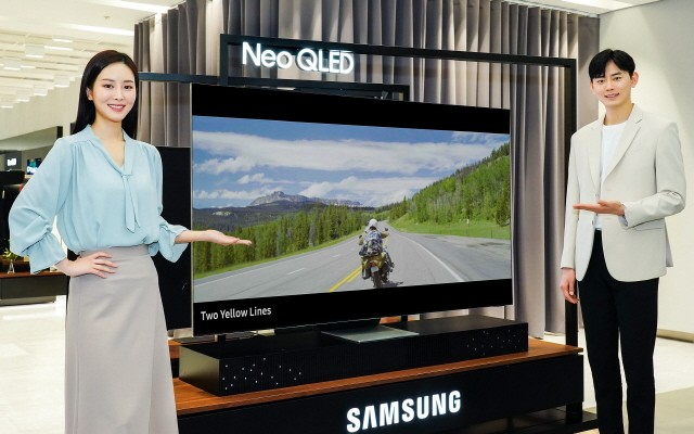 삼성전자의 신제품 NEO QLED TV