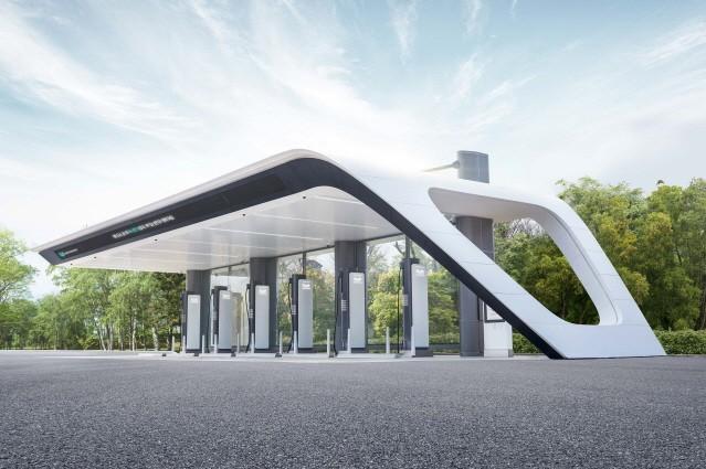 현대자동차그룹, 350㎾ 초고속 충전 인프라 'E-pit' 충전소 열어