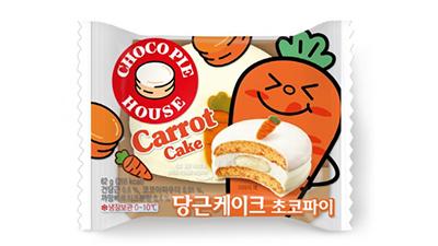 오리온 '디저트 초코파이 당근케이크' 출시…