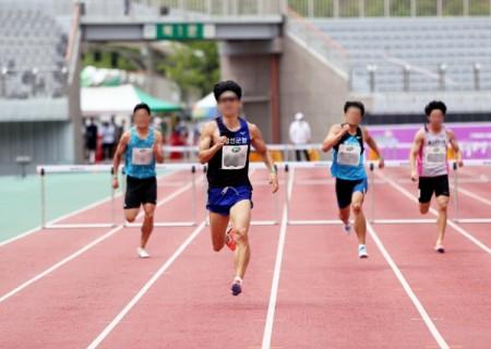 제75회 전국육상경기선수권대회 현장 사진