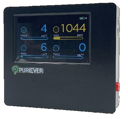 < 퓨리에버 2.0 공기측정기>