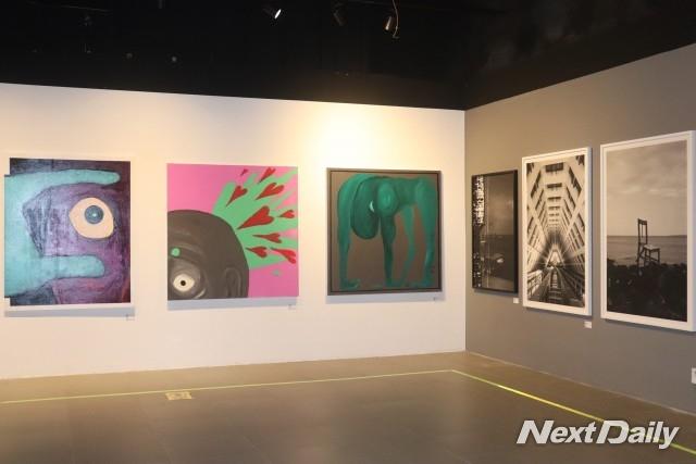 'KOREAN EYE 2020 특별전' 전시장 전경