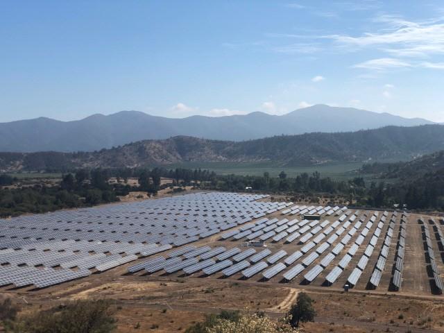 DL에너지 칠레 산타 로사 태양광 단지
