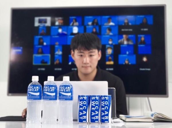 포카리스웨트, 러닝크루 비대면 발대식 개최