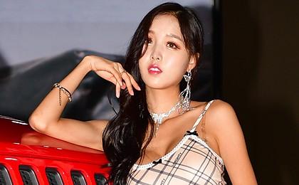[포토] 레이싱모델 김다온, 오토살롱위크에 '출격'
