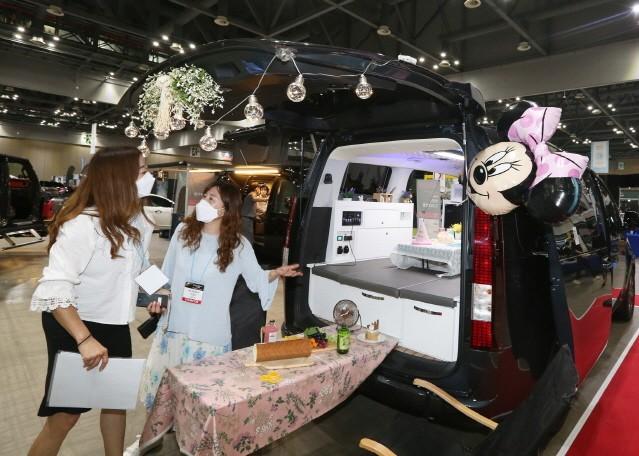 '2021 오토살롱위크' 개막…10월 3일까지 열려